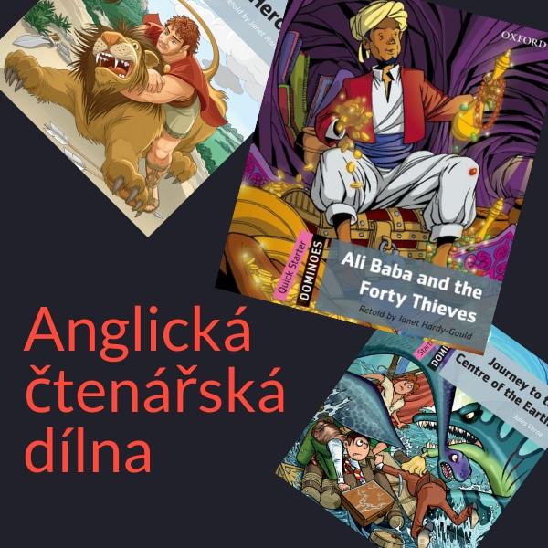Anglická čtenářská dílna pro děti – Ali Baba and the Forty Thieves (září 2021)